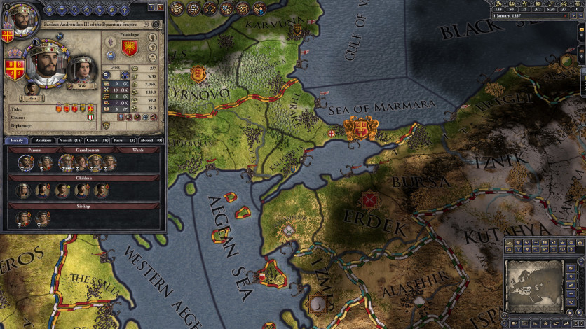 Screenshot 3 - Crusader Kings II: The Reaper's Due Content Pack