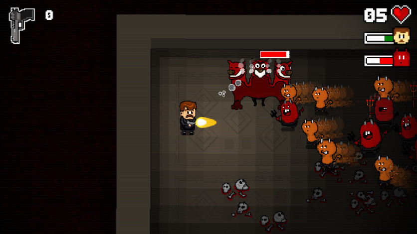 Screenshot 3 - Mustache in Hell