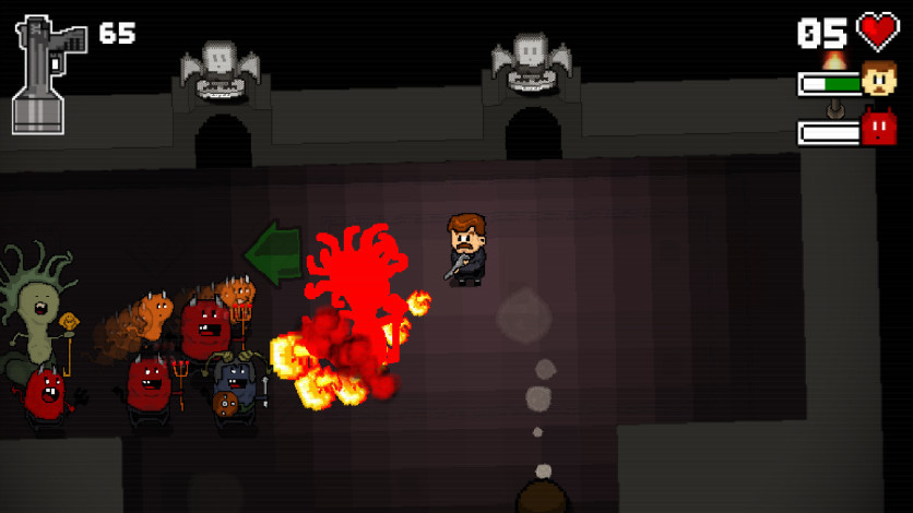 Screenshot 7 - Mustache in Hell