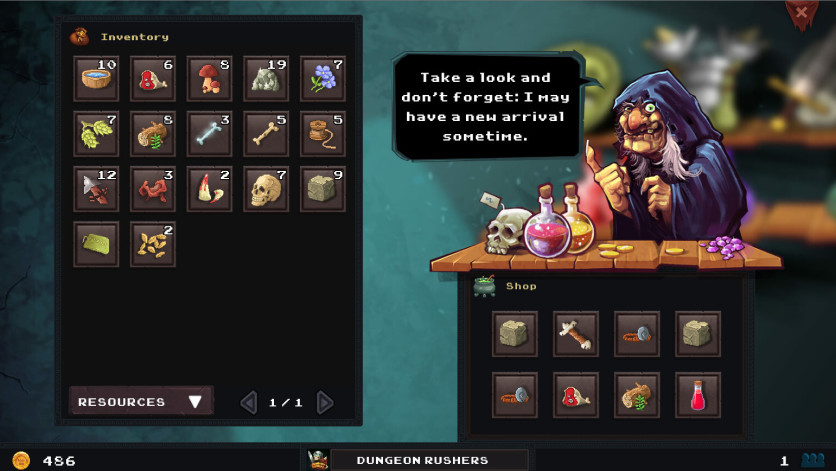 Screenshot 9 - Dungeon Rushers