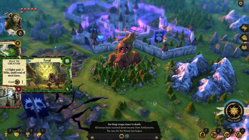 Screenshot 2 - Armello - The Usurpers Hero Pack