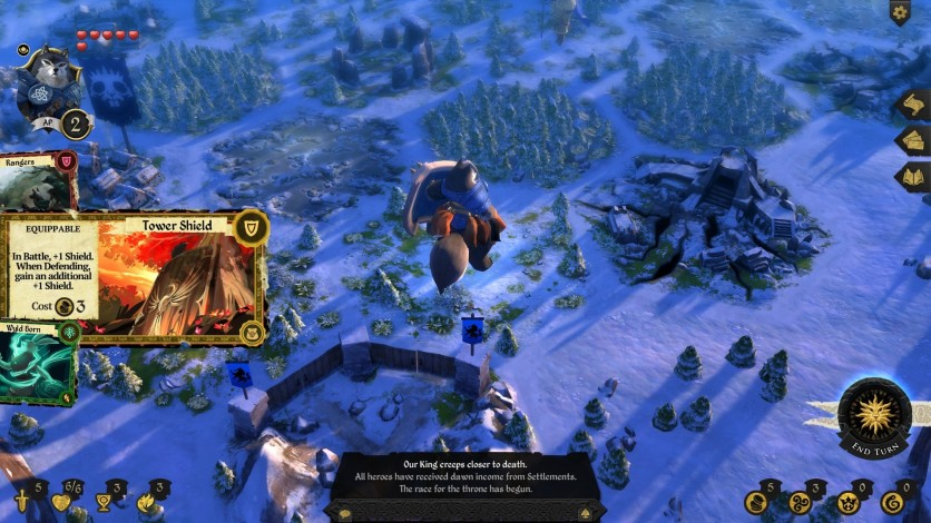 Screenshot 8 - Armello - The Usurpers Hero Pack