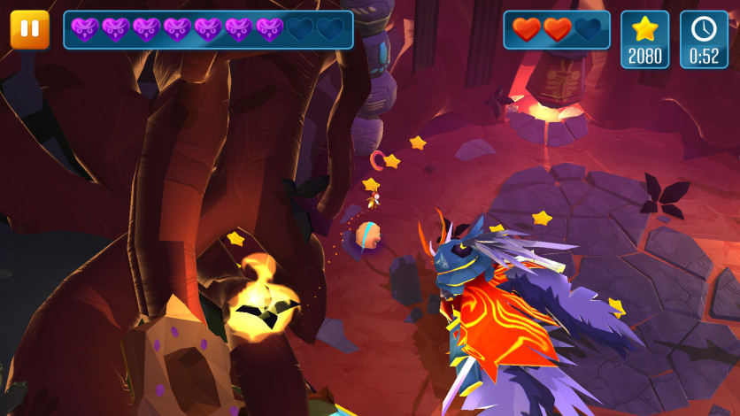 Screenshot 3 - Momonga Pinball Adventures