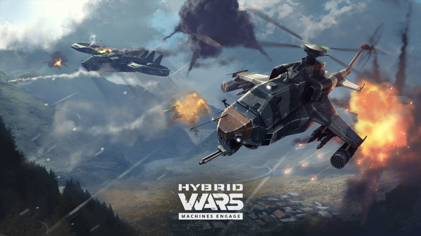 Screenshot 4 - Hybrid Wars
