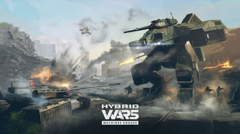 Screenshot 3 - Hybrid Wars