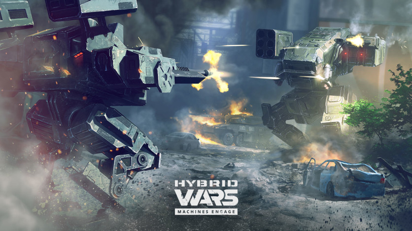 Screenshot 2 - Hybrid Wars