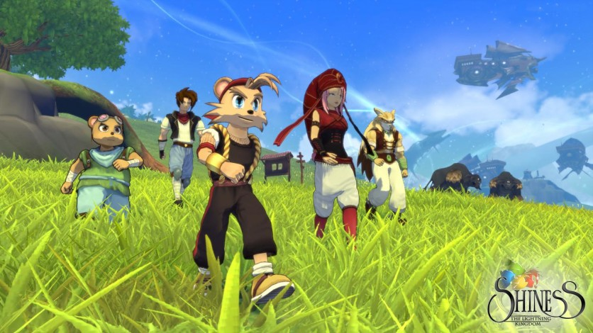 Screenshot 1 - Shiness: The Lightning Kingdom
