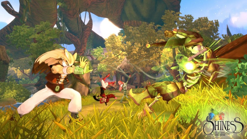 Screenshot 2 - Shiness: The Lightning Kingdom