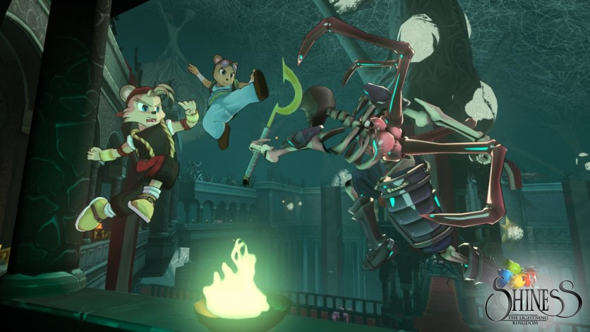 Screenshot 3 - Shiness: The Lightning Kingdom