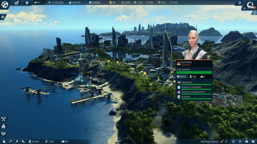 Screenshot 8 - Anno 2205: Frontiers