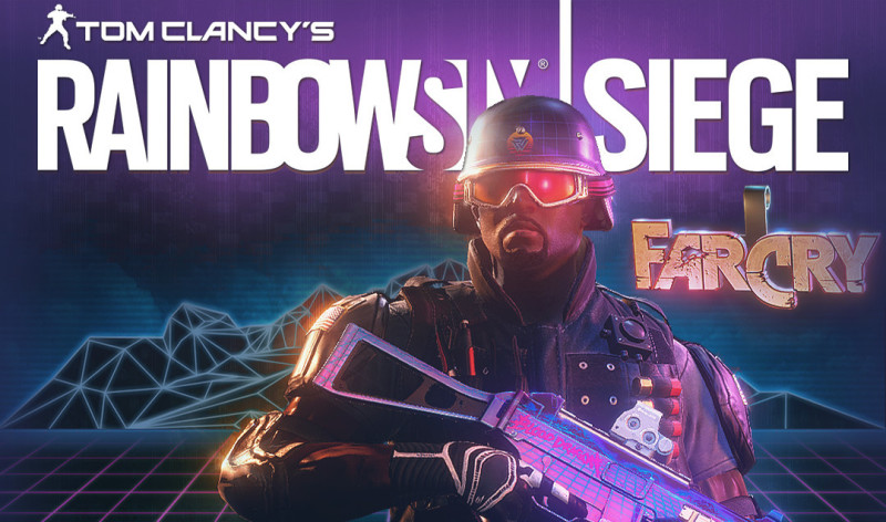 Screenshot 1 - Tom Clancy's Rainbow Six - SIEGE: Castle Blood Dragon Set
