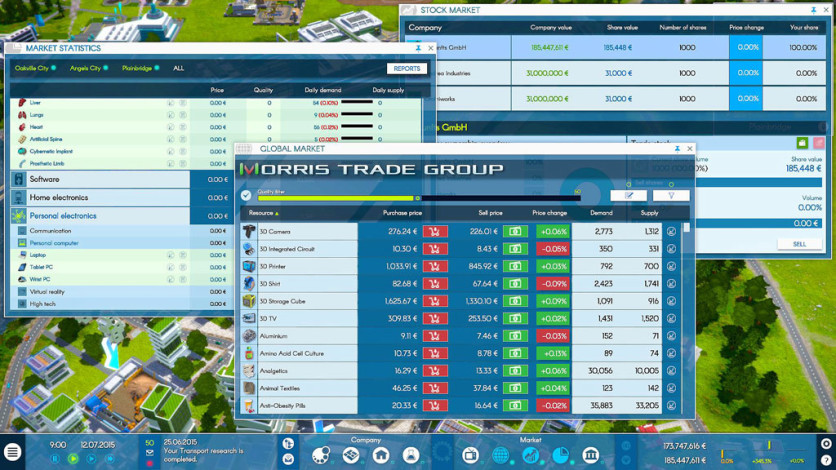 Screenshot 2 - INDUSTRY MANAGER: Future Technologies