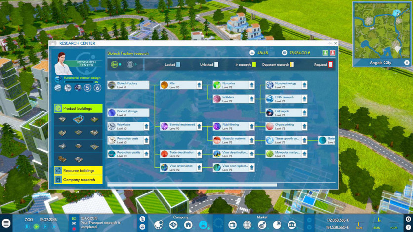 Screenshot 5 - INDUSTRY MANAGER: Future Technologies
