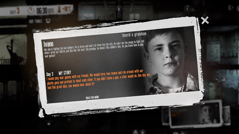 Screenshot 3 - This War of Mine - The Little Ones