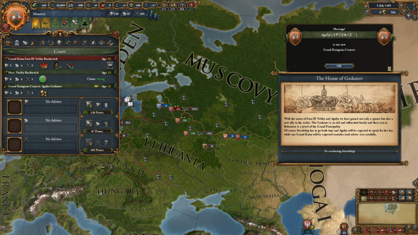 Screenshot 8 - Europa Universalis IV: Rights of Man