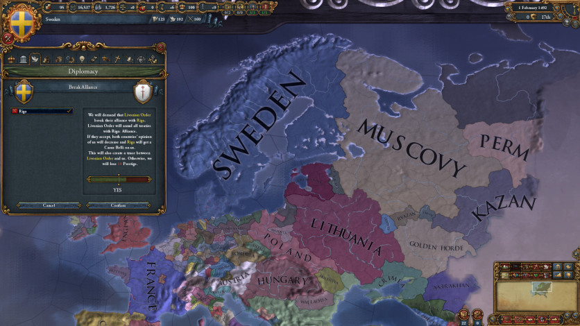 Screenshot 2 - Europa Universalis IV: Rights of Man