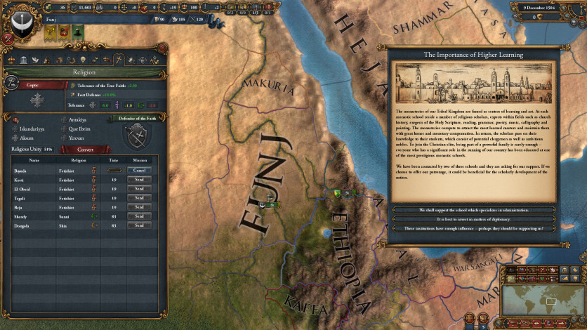 Screenshot 9 - Europa Universalis IV: Rights of Man