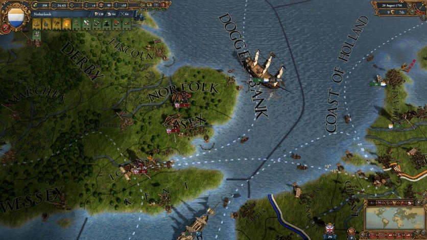 Screenshot 1 - Europa Universalis IV: Res Publica