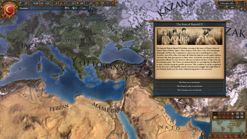 Screenshot 2 - Europa Universalis IV: Song of Regency - Music Pack