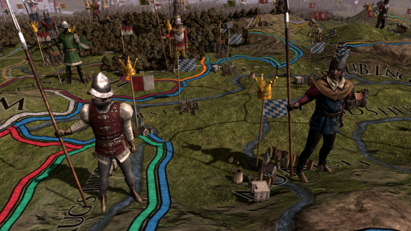 Screenshot 1 - Europa Universalis IV: Rights of Man Content Pack