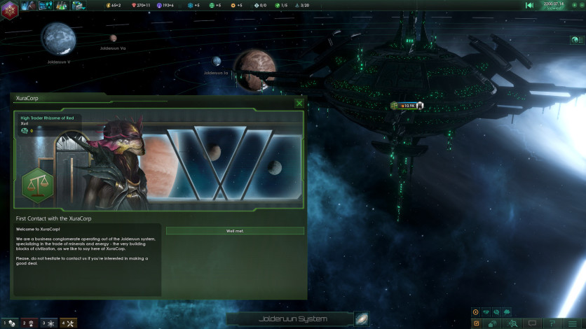 Screenshot 4 - Stellaris: Leviathans Story Pack