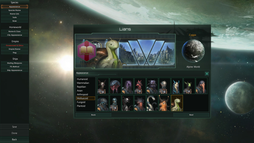 Screenshot 2 - Stellaris: Leviathans Story Pack