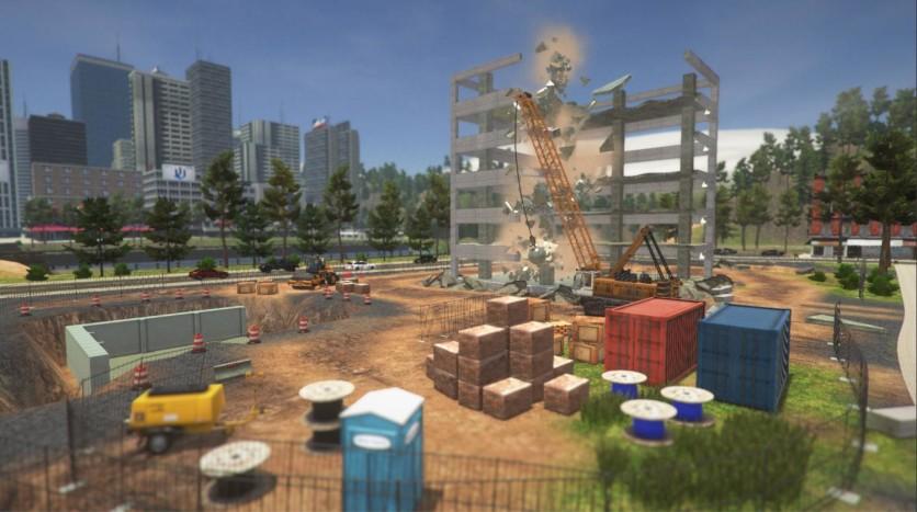 Screenshot 4 - Demolish & Build Company 2017