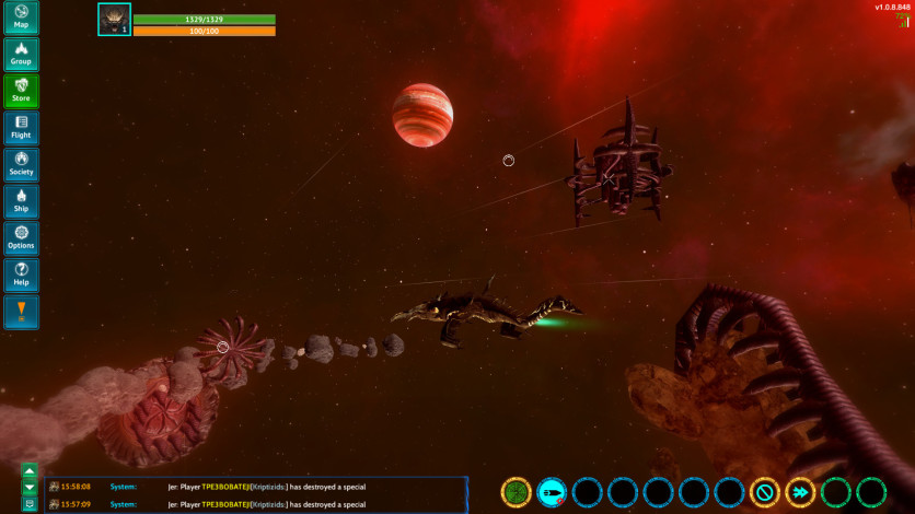 Screenshot 3 - Nebula Online
