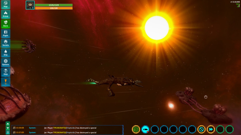 Screenshot 2 - Nebula Online