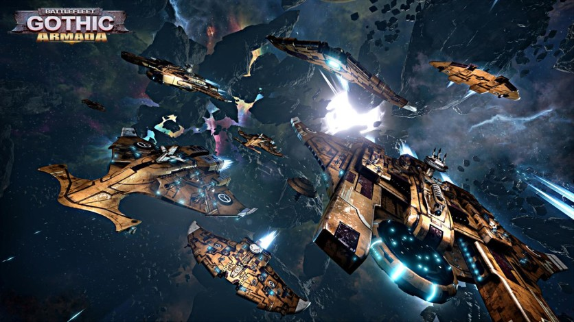 Screenshot 3 - Battlefleet Gothic: Armada - Tau Empire