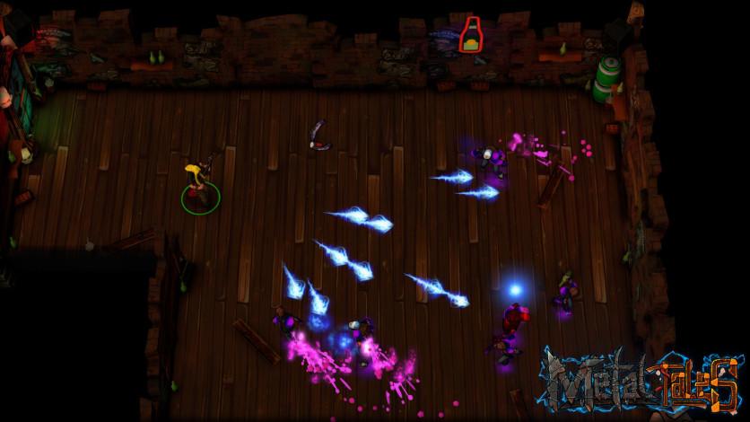 Screenshot 4 - Metal Tales: Fury of the Guitar Gods