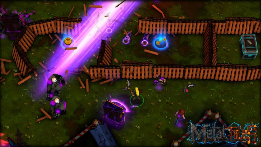 Screenshot 2 - Metal Tales: Fury of the Guitar Gods