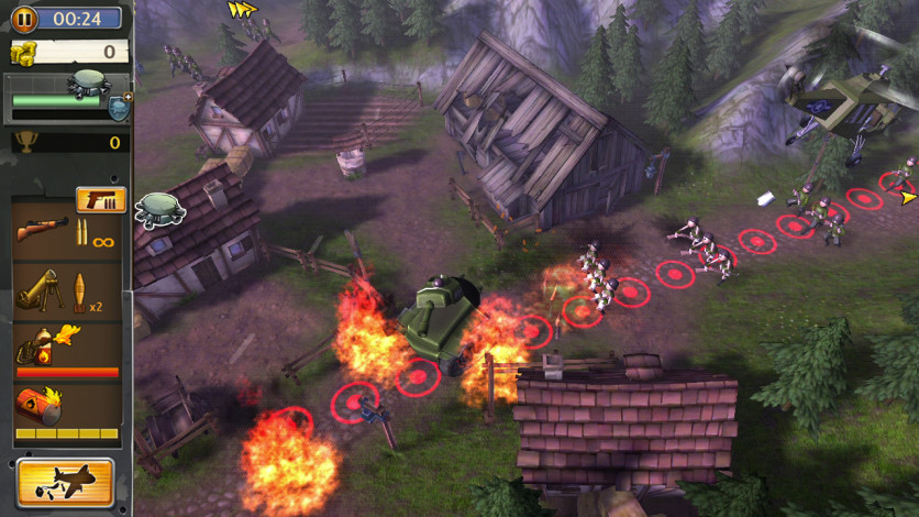 Screenshot 3 - Hills of Glory 3D