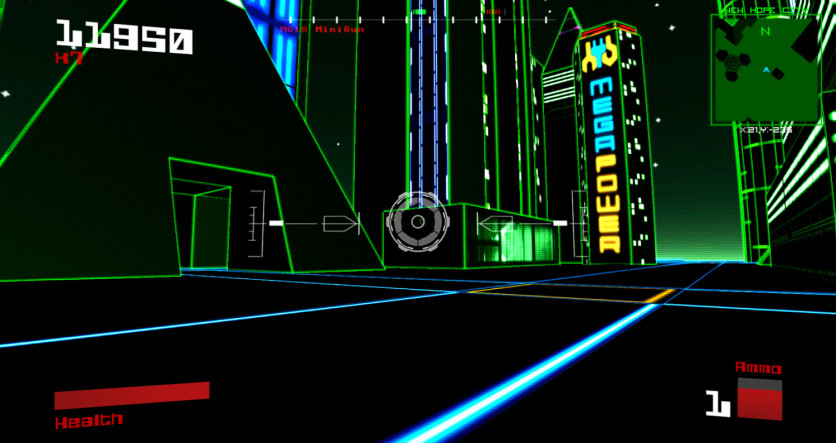 Screenshot 2 - Vektor Wars