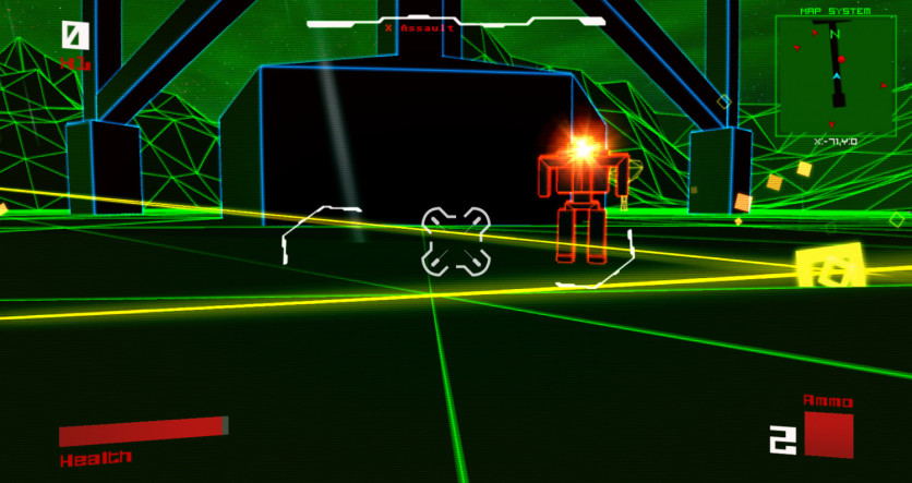 Screenshot 4 - Vektor Wars