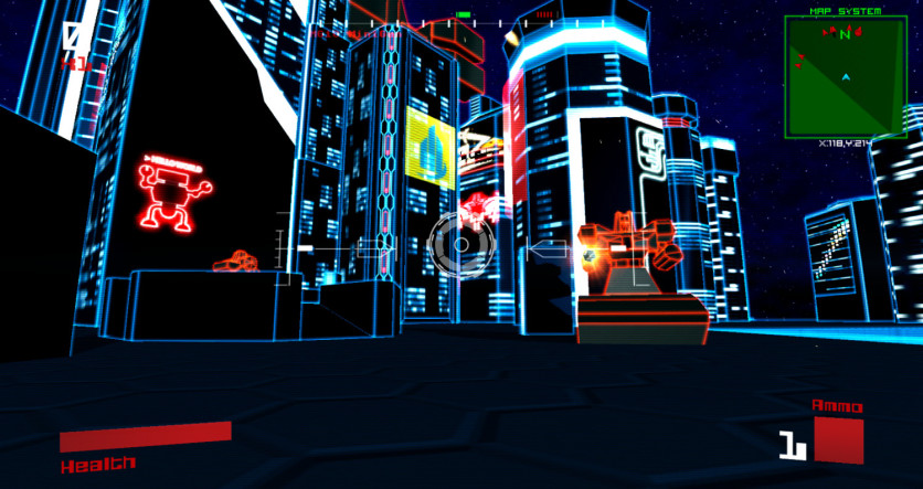 Screenshot 5 - Vektor Wars