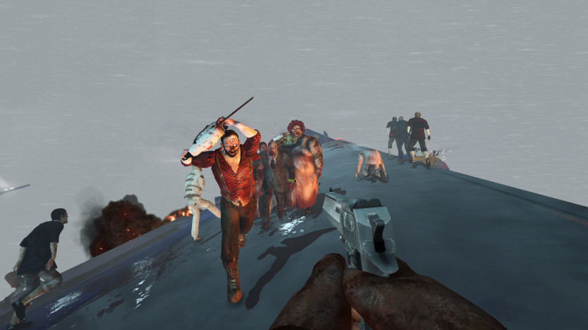 Screenshot 11 - Zombies on A Plane