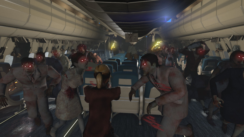 Screenshot 9 - Zombies on A Plane