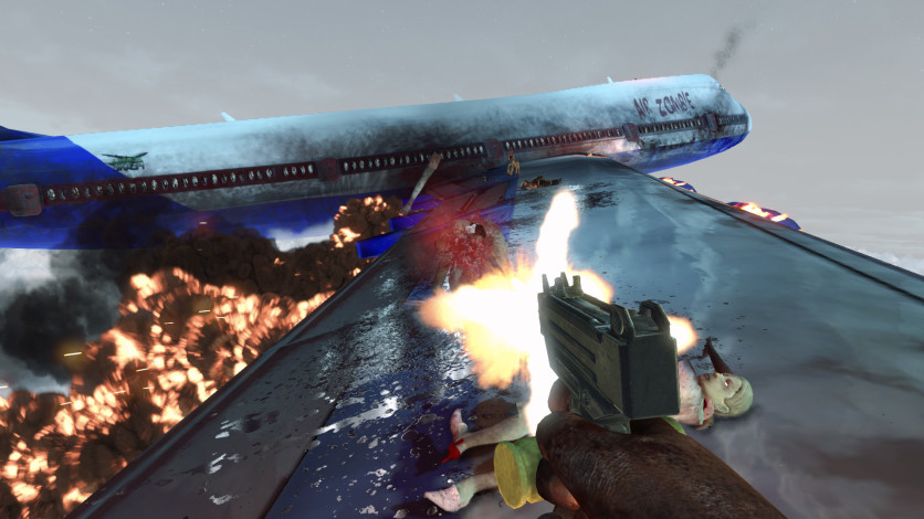 Screenshot 3 - Zombies on A Plane