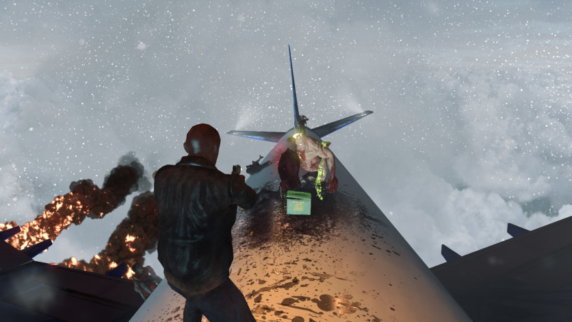 Screenshot 5 - Zombies on A Plane