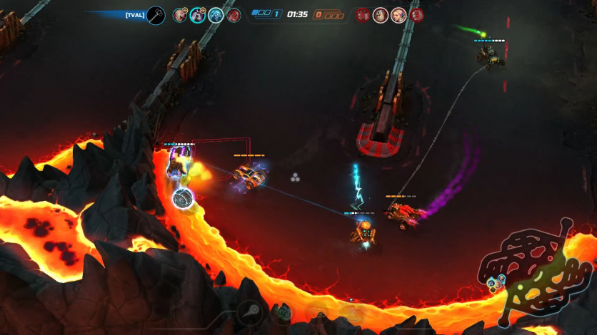 Screenshot 4 - Heavy Metal Machines