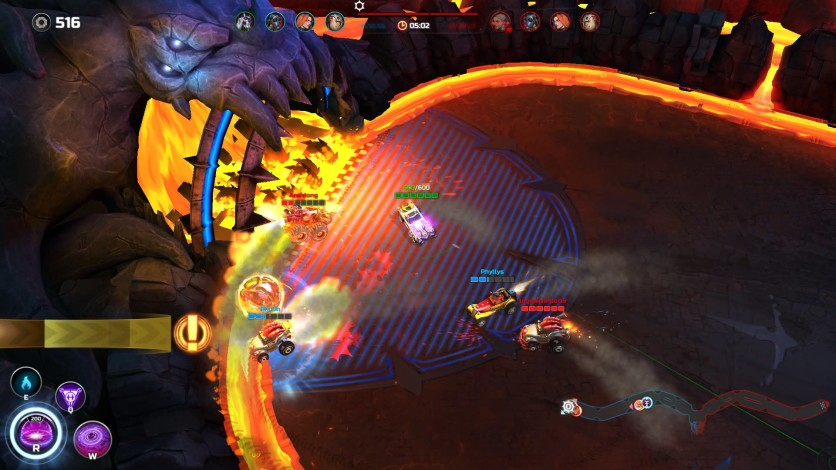 Screenshot 2 - Heavy Metal Machines