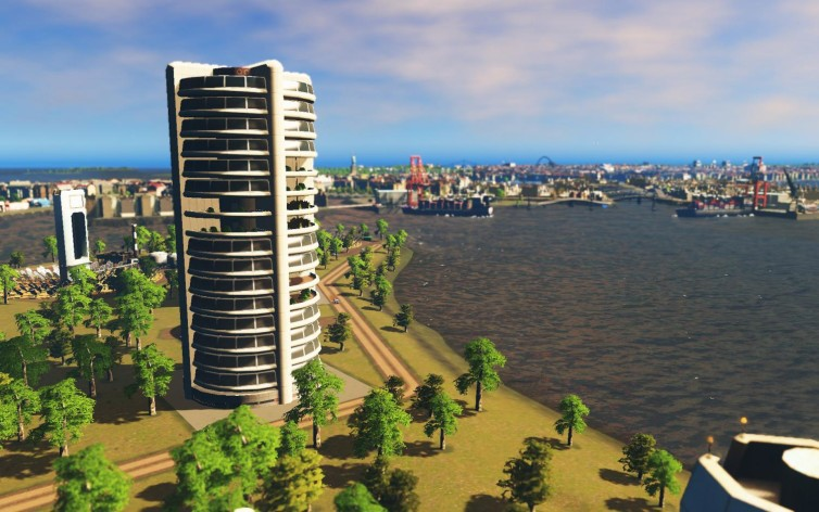Screenshot 7 - Cities: Skylines - Content Creator Pack: High-Tech Buildings