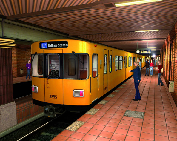 Screenshot 7 - World of Subways 2 – Berlin Line 7