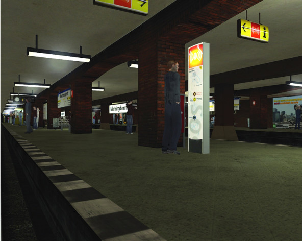 Screenshot 4 - World of Subways 2 – Berlin Line 7