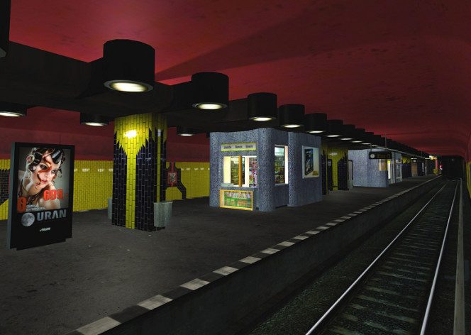 Screenshot 2 - World of Subways 2 – Berlin Line 7