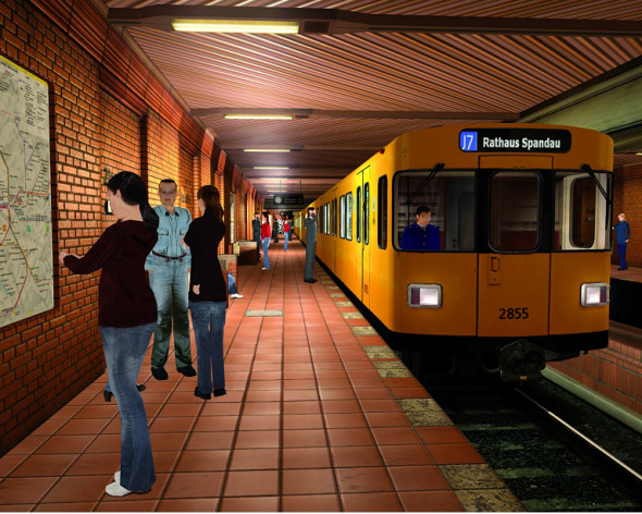 Screenshot 8 - World of Subways 2 – Berlin Line 7