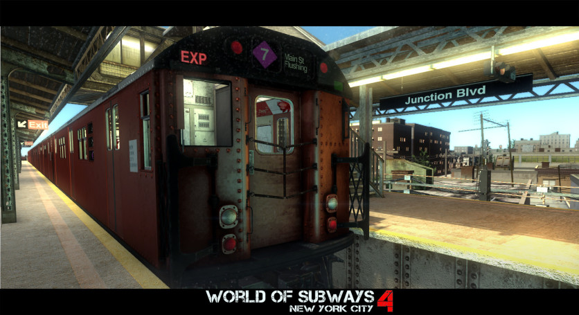 Screenshot 2 - World of Subways 4 – New York Line 7