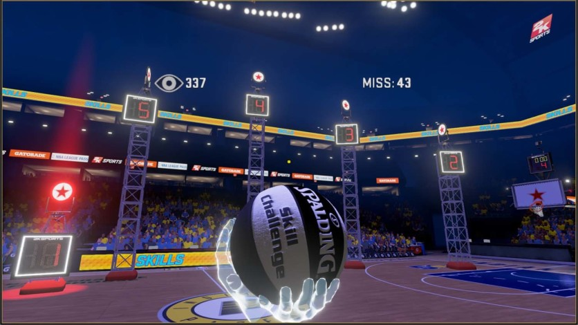 Screenshot 3 - NBA 2KVR Experience