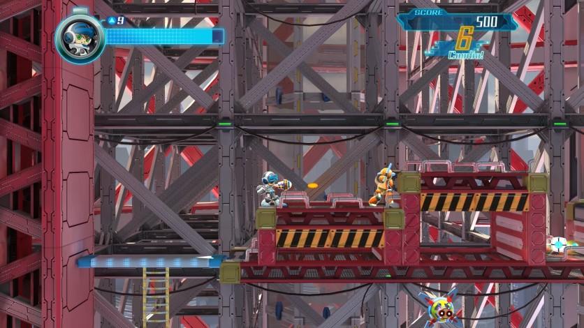 Screenshot 1 - Mighty No. 9 - Retro Hero